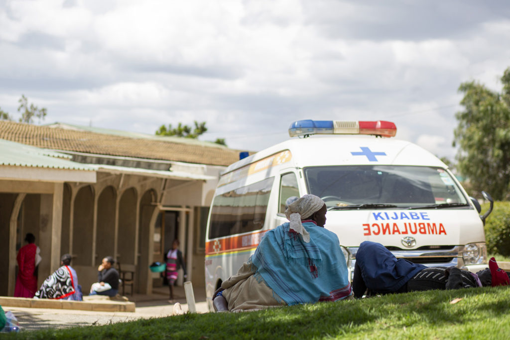 On emergency care. . .